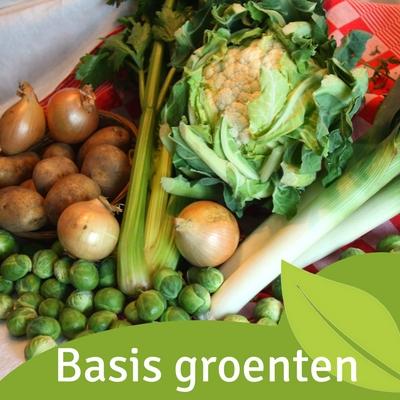 Basis groenten